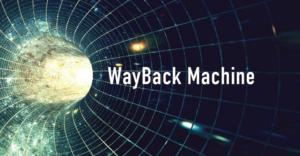 WayBack Machineサムネイル