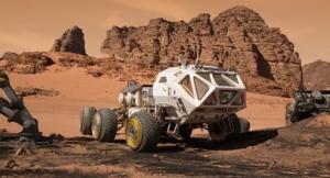火星での生活