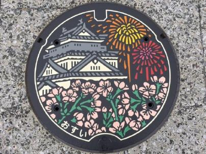 岡崎のマンホール