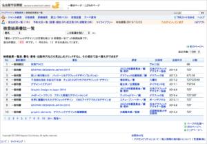 検索-グラフィックデザイン