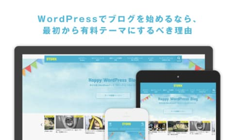 WordPressでブログを始めるなら、最初から有料テーマにするべき理由