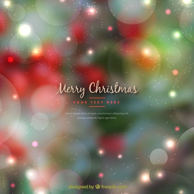 緑と赤のクリスマスの背景