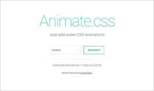 Animate.css公式サイト