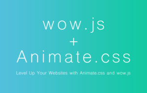 Animate.css+wow,js