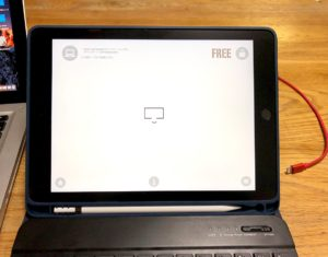 iPadでYamDisplayを起動