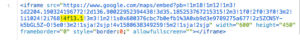 GoogleMap埋め込みコード