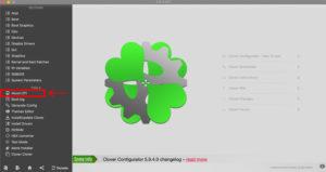 Clover Configurator Moun EFI